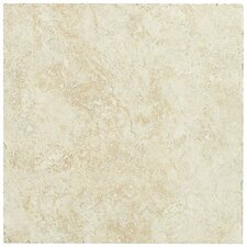 """Piazza 20"""" x 20"""" Porcelain Field Tile in Ivory"""