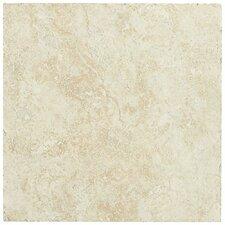 "Piazza 13"" x 13"" Ceramic Field Tile in Ivory"