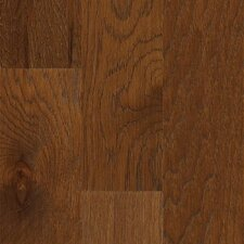"Jubilee 5"" Engineered Hickory Hardwood Flooring in Burnt Amber"