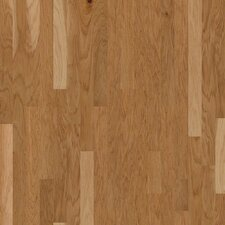 "Jubilee 3-1/4"" Engineered Hickory Hardwood Flooring in Honey Spice"