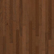 "Jubilee 3-1/4"" Engineered Hickory Hardwood Flooring in Burnt Amber"