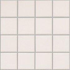 "Colonnade 3"" x 3"" Ceramic Mosaic Tile in Plain White (Set of 3)"