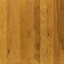 "Brushed Suede 5"" Engineered Hickory Hardwood Flooring in Buckskin"