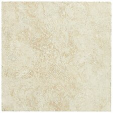 """Piazza 6.5"""" x 6.5"""" Porcelain Field Tile in Ivory"""