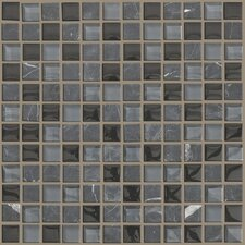 "Mixed Up 1"" x 1"" Natural Stone Mosaic Tile in Black Hills"