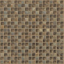 "Mixed Up 0.625"" x 0.625"" Slate Mosaic Tile in Piedmont"