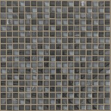"Mixed Up 0.625"" x 0.625"" Natural Stone Mosaic Tile in Black Hills"