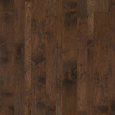Hudson Bay Random Width Engineered Hickory Hardwood Flooring in Brushwood