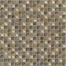 "Mixed Up 0.625"" x 0.625"" Slate Mosaic Tile in Spring Valley"