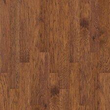 "Sutton's Mountain 5"" Engineered Hickory Hardwood Flooring in Burnt Barnboard"