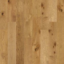 "Castlewood 7-1/2"" Engineered White Oak Hardwood Flooring in Tallow"