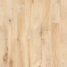 "Castlewood 7-1/2"" Engineered White Oak Hardwood Flooring in Tapestry"