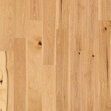 "Castlewood 7-1/2"" Engineered Hickory Hardwood Flooring in Coat of Arms"