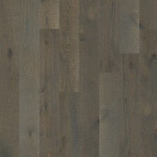 "Castlewood 7-1/2"" Engineered White Oak Hardwood Flooring in Hearth"