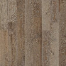 "Castlewood 7-1/2"" Engineered White Oak Hardwood Flooring in Drawbridge"