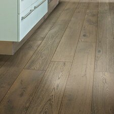 "Castlewood 7-1/2"" Engineered White Oak Hardwood Flooring in Armory"