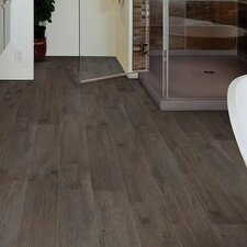 "Urbanality 12 6"" x 36"" x 2mm Luxury Vinyl Plank in Skyline"