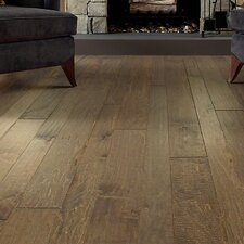Bennington Random Width Engineered Maple Hardwood Flooring in Highway