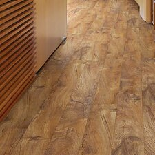 "Chatham 6"" x 48"" x 4mm Luxury Vinyl Plank in Rainforest Teak"