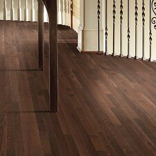 "Bellingham 2-1/4"" Solid White Oak Hardwood Flooring in Coffee Bean"