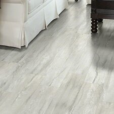 "Floorte Classico 6"" x 48"" x 6.5mm Vinyl Plank in Bianco"