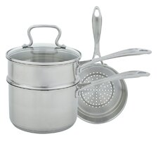 3-qt. 4 Piece Sauce Pan Set with Lid