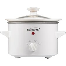 Brentwood 1.5-Quart Slow Cooker