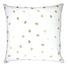 Lippity Split Linen Throw Pillow