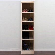 Flat Iron Shoe Storage Cabinet
