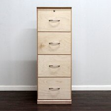 Flat Iron 4-Drawer Vertical File