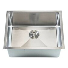 "Ariel 23"" x 18"" Single Bowl Undermount Kitchen Sink"