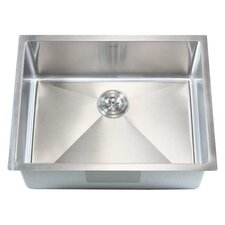 "Ariel 26"" x 20"" Single Bowl Undermount Kitchen Sink"