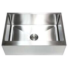 """Ariel 30"""" x 21"""" Stainless Steel Farmhouse Kitchen Sink"""