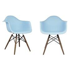 Scandinavian Arm Chair (Set of 2)