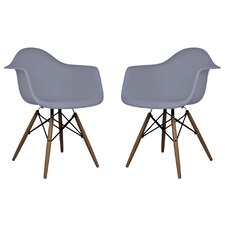 Scandinavian Arm Chair (Set of 2)