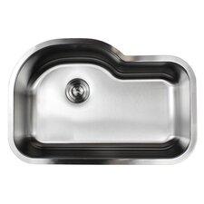 """Ariel Pearl 31.5"""" x 21.13"""" Single Bowl Kitchen Sink"""