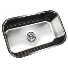 """Ariel Pearl 30"""" x 18.13"""" Single Bowl Kitchen Sink"""
