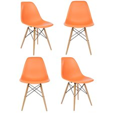 Slope Shell Side Chair (Set of 4)