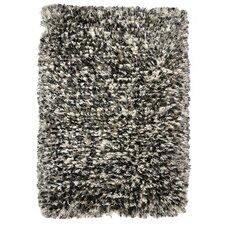 Elegante Luna Pearl Gray Shag Area Rug