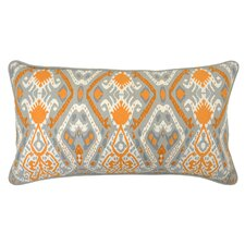 Crocus Cotton Throw Pillow
