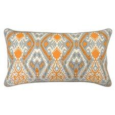 Crocus Cotton Throw Pillow