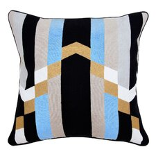 Jazz Cotton Throw Pillow