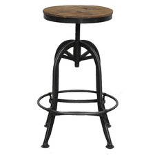 Akron Adjustable Height Bar Stool