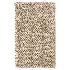 Guimauve Brown/Tan Solid Shag Latte Area Rug