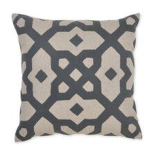 Versailles Plaka Applique Linen Throw Pillow