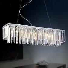Modern 8 Light Crystal Chandelier