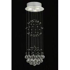 Rain Drop 3 Light Crystal Chandelier
