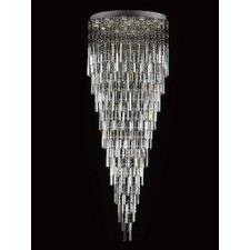 Rain Drop 13 Light Crystal Chandelier