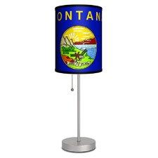 "Montana State Flag 20"" Table Lamp"