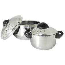 Stainless Steel 4 Piece Pasta Pot Set